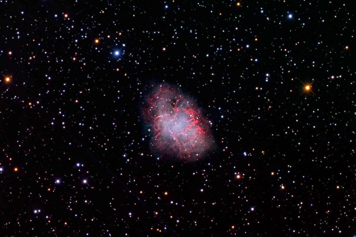 distance to the crab nebula - photo #17